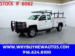 2015 Chevrolet Silverado 2500HD Utility ~ 4x4 ~ Double Cab ~ Only 22K Miles!