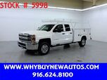 2015 Chevrolet Silverado 2500HD Utility ~ 4x4 ~ Double Cab ~ Only 63K Miles!