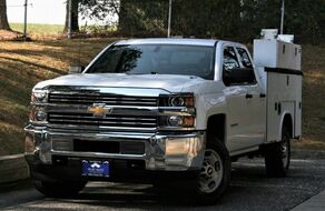 2015 Chevrolet Silverado 2500HD Work Truck Double Cab Long