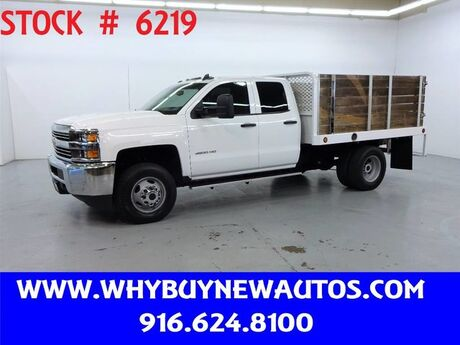 2015 Chevrolet Silverado 3500HD ~ Double Cab ~ 9ft. Stake Bed ~ Only 49K Miles! Rocklin CA