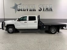 2015_Chevrolet_Silverado 3500HD_4WD FlatBed Duramax_ Dallas TX