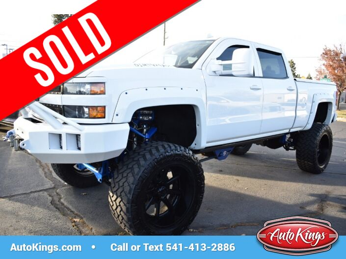 2015 Chevrolet Silverado 3500HD LTZ 4WD Crew Cab Bend OR