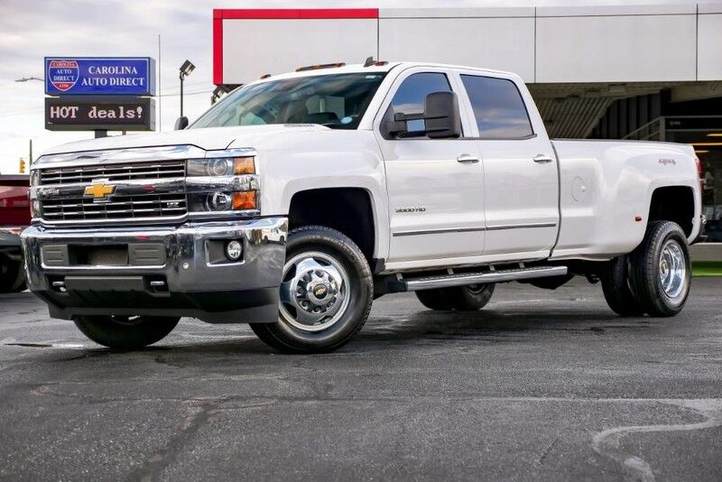 2015 Chevrolet Silverado 3500HD LTZ Duramax w/ Heated & Vented Front Seats + Remote Start Mooresville NC