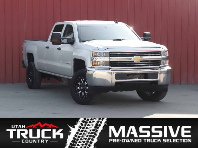 2015 Chevrolet Silverado 3500HD Work Truck Crew Cab Long Box 4WD Lehi UT