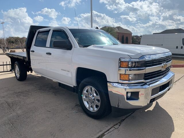 2015 Chevrolet Silverado FLAT BED HD 4WD CREW CAB 167.7''LT,BACK-UP-CAMERA, Euless TX