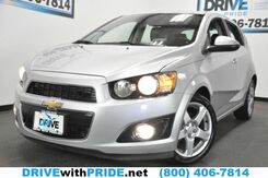 2015_Chevrolet_Sonic_LTZ TURBO 36K REMOTE START REAR CAM HEATED SEATS BLUETOOTH_ Houston TX