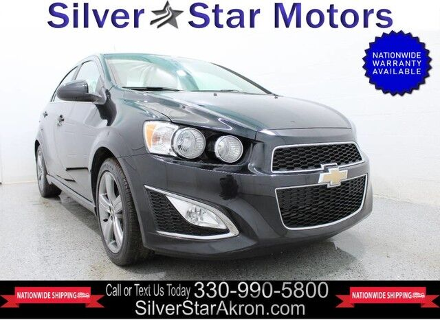 2015 Chevrolet Sonic RS SALE PENDING!!! Tallmadge OH