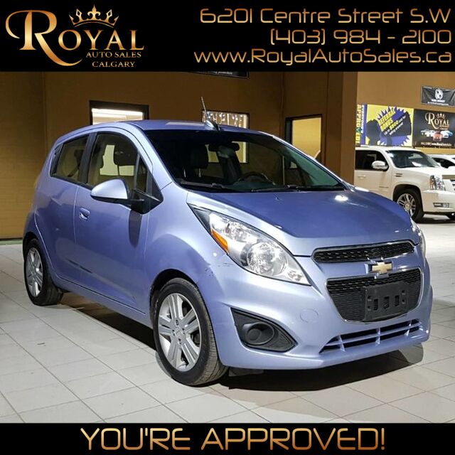 2015_Chevrolet_Spark_LT w/ TOUCHSCREEN, BLUETOOTH_ Calgary AB