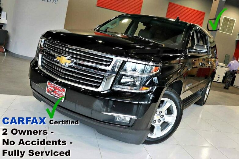 2015 Chevrolet Suburban 4WD LTZ - Carfax Certified 2 Owners - No Accidents - Fully Serviced Springfield NJ