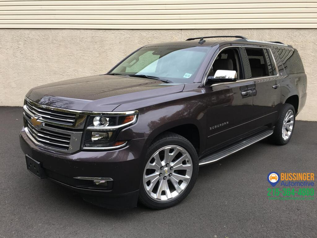 2015 Chevrolet Suburban LTZ - 4x4 w/ Navigation & Rear Entertainment Feasterville PA