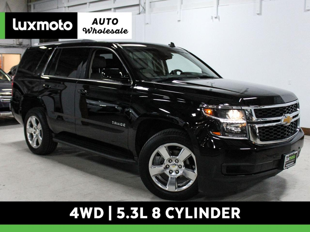 2015 Chevrolet Tahoe LT 4X4 3rd Row Backup Cam Nav Htd Seats Rear DVD Portland OR