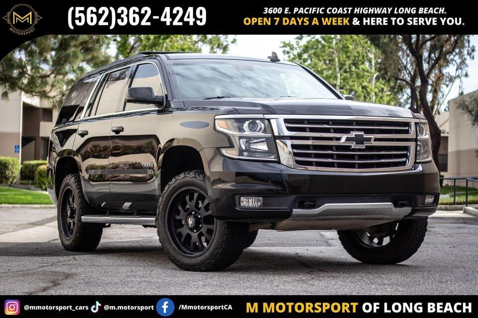 2015_Chevrolet_Tahoe_LT Sport Utility 4D_ Long Beach CA