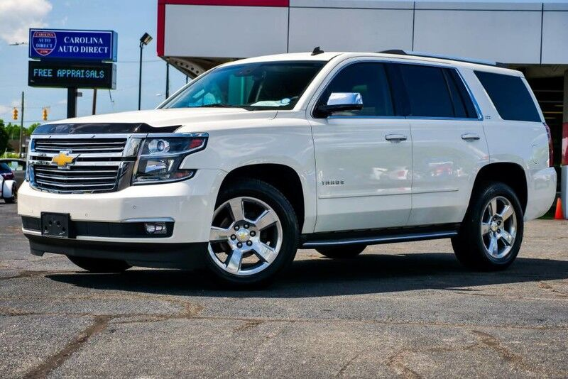 2015 Chevrolet Tahoe LTZ **3rd ROW** w/ Rear Entertainment Mooresville NC