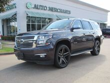 2015_Chevrolet_Tahoe_LTZ 4WD LEATHER, HTD/CLD STS, NAVIGATION, SUNROOF, BLIND SPOT, 3RD ROW, CAPTAINS CHAIRS, BLUETOOTH_ Plano TX
