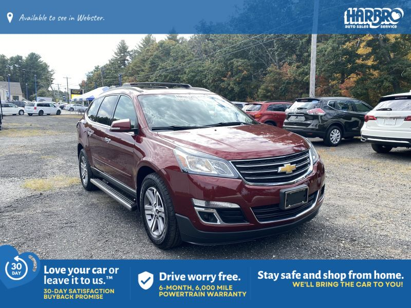 2015 Chevrolet Traverse LT w/ Sunroof DVD & Navigation