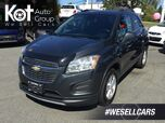 2015 Chevrolet Trax 1LT AWD No Accidents! Keyless Entry