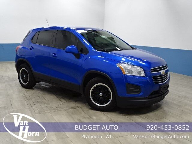 2015 Chevrolet Trax LS Plymouth WI