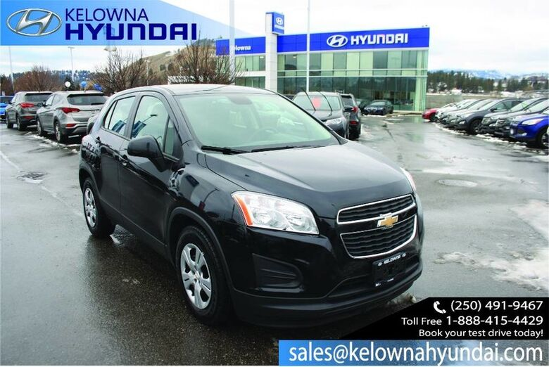 2015 Chevrolet Trax LS Remote Keyless Entry/Usb Port Kelowna BC