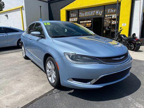 2015 Chrysler 200 4d Sedan Limited I4 Albuquerque NM