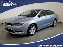 2015_Chrysler_200_4dr Sdn Limited FWD_ Cary NC