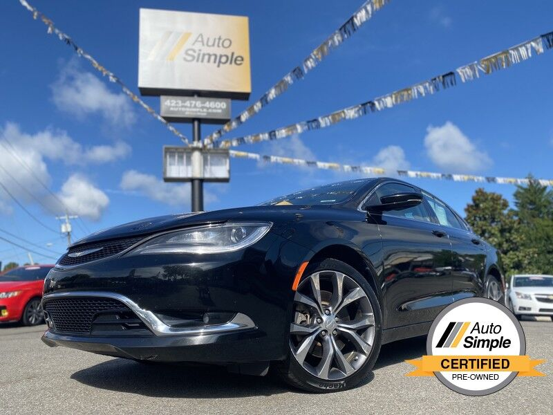 2015 Chrysler 200 C Cleveland TN