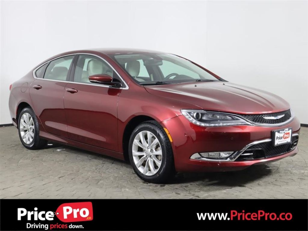 2015 Chrysler 200 C w/Nav/Heated+Cooled Leather Maumee OH