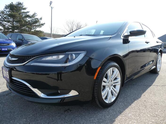 2015 Chrysler 200 Limited | Navigation | Heated Seats | Remote Start Essex ON