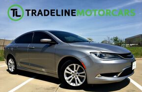 2015_Chrysler_200_Limited BLUETOOTH, BACK UP CAM, KEYLESS START.. AND MUCH MORE!!!_ CARROLLTON TX