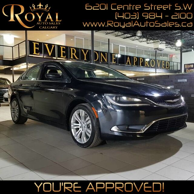 2015 Chrysler 200 Limited Calgary AB