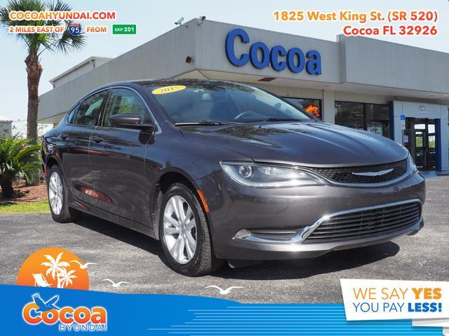 2015 Chrysler 200 Limited Cocoa FL