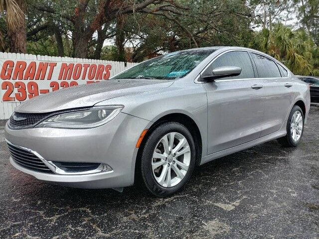 2015_Chrysler_200_Limited_ Fort Myers FL