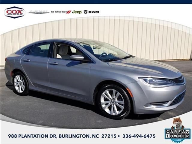 2015 Chrysler 200 Limited Front-wheel Drive Sedan Burlington NC