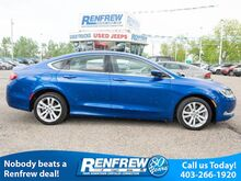 2015_Chrysler_200_Limited, Heated Seats, Remote Start, Bluetooth, SiriusXM, Backup Camera_ Calgary AB