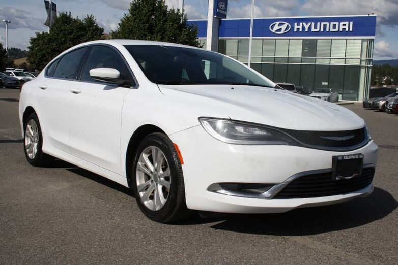 2015 Chrysler 200 Limited Kelowna BC