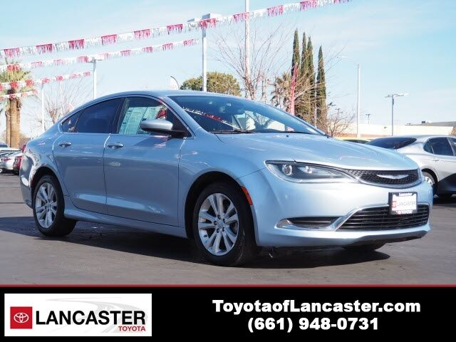 2015 Chrysler 200 Limited Lancaster CA
