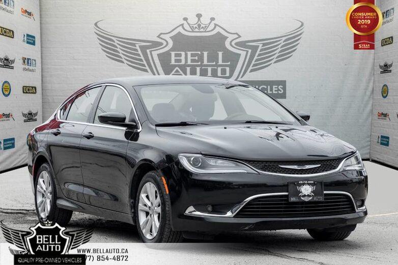 2015 Chrysler 200 Limited, PUSH START, A/C, BLUETOOTH, MEMORY SEAT, VOICE CMND Toronto ON