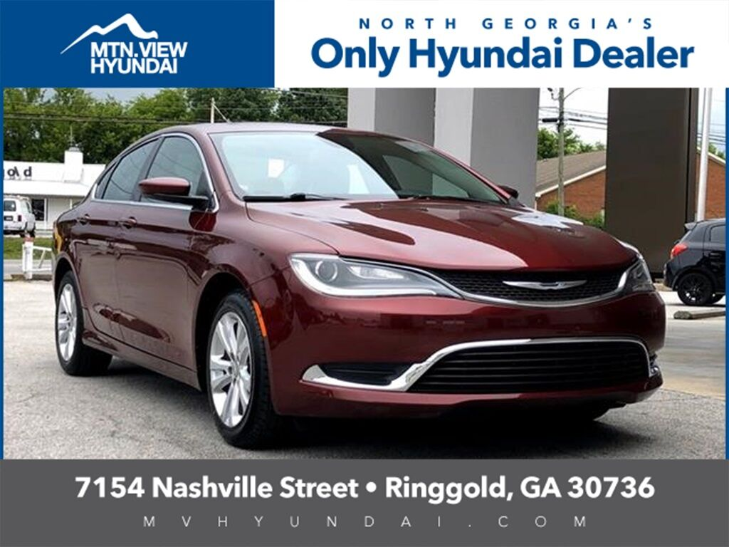 2015 Chrysler 200 Limited Ringgold GA