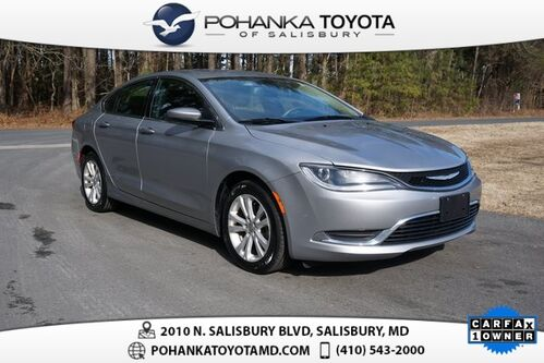 2015_Chrysler_200_Limited_ Salisbury MD