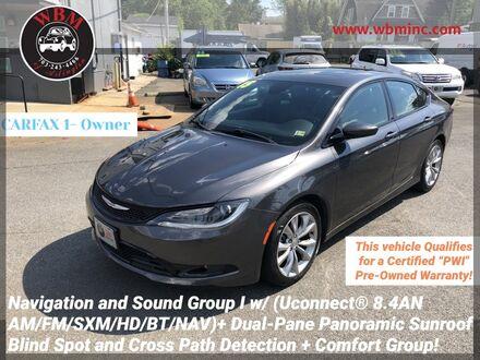 2015_Chrysler_200_Limited Sedan w/ S Package_ Arlington VA