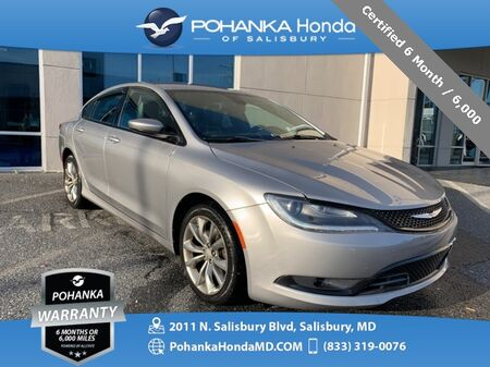 2015_Chrysler_200_S ** Certified 6 Month / 6,000 **_ Salisbury MD
