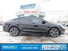 2015_Chrysler_200_S AWD, Pano Sunroof, Remote Start, Heated Leather, Blind Spot_ Calgary AB