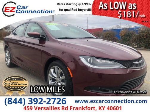 2015_Chrysler_200_S_ Frankfort KY