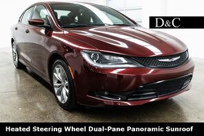 2015_Chrysler_200_S Heated Steering Wheel Dual-Pane Panoramic Sunroof_ Portland OR