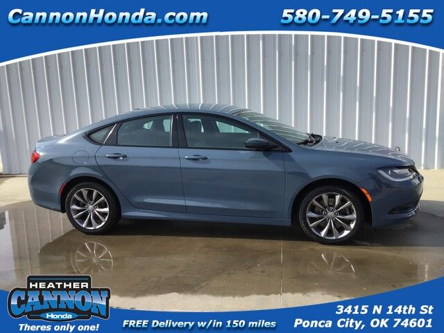 2015 Chrysler 200 S Ponca City OK
