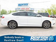2015_Chrysler_200S_AWD, Pano Sunroof, Nav, Cooled/Heated Leather Seats, Blind Spot, Bluetooth_ Calgary AB