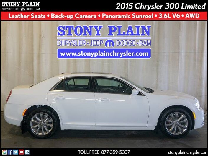 2015 Chrysler 300 Limited Stony Plain AB