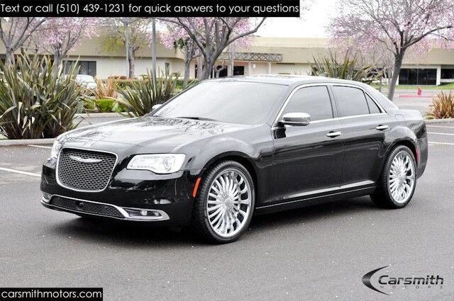 2015 Chrysler 300c FULLY LOADED and LESS THAN 6,000 MILES!!!! Blind Spot/Adaptive Cruise/Forward Collision/ LOADED!!! Fremont CA