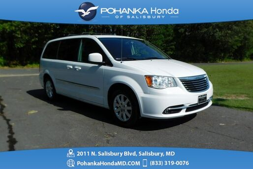 2015_Chrysler_Town & Country_Touring ** DVD ENTERTAINMENT ** BEST MATCH **_ Salisbury MD