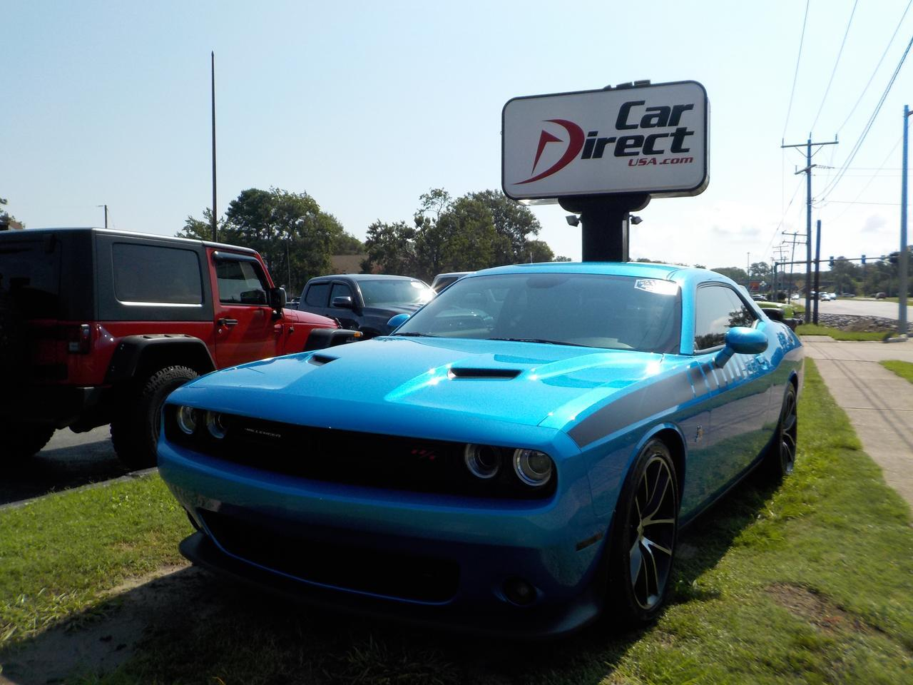 2015 DODGE CHALLENGER R/T SCAT PACK, RWD, BLACK RIMS, ALPINE SOUND SYSTEM, POWER WINDOWS & LOCKS!!