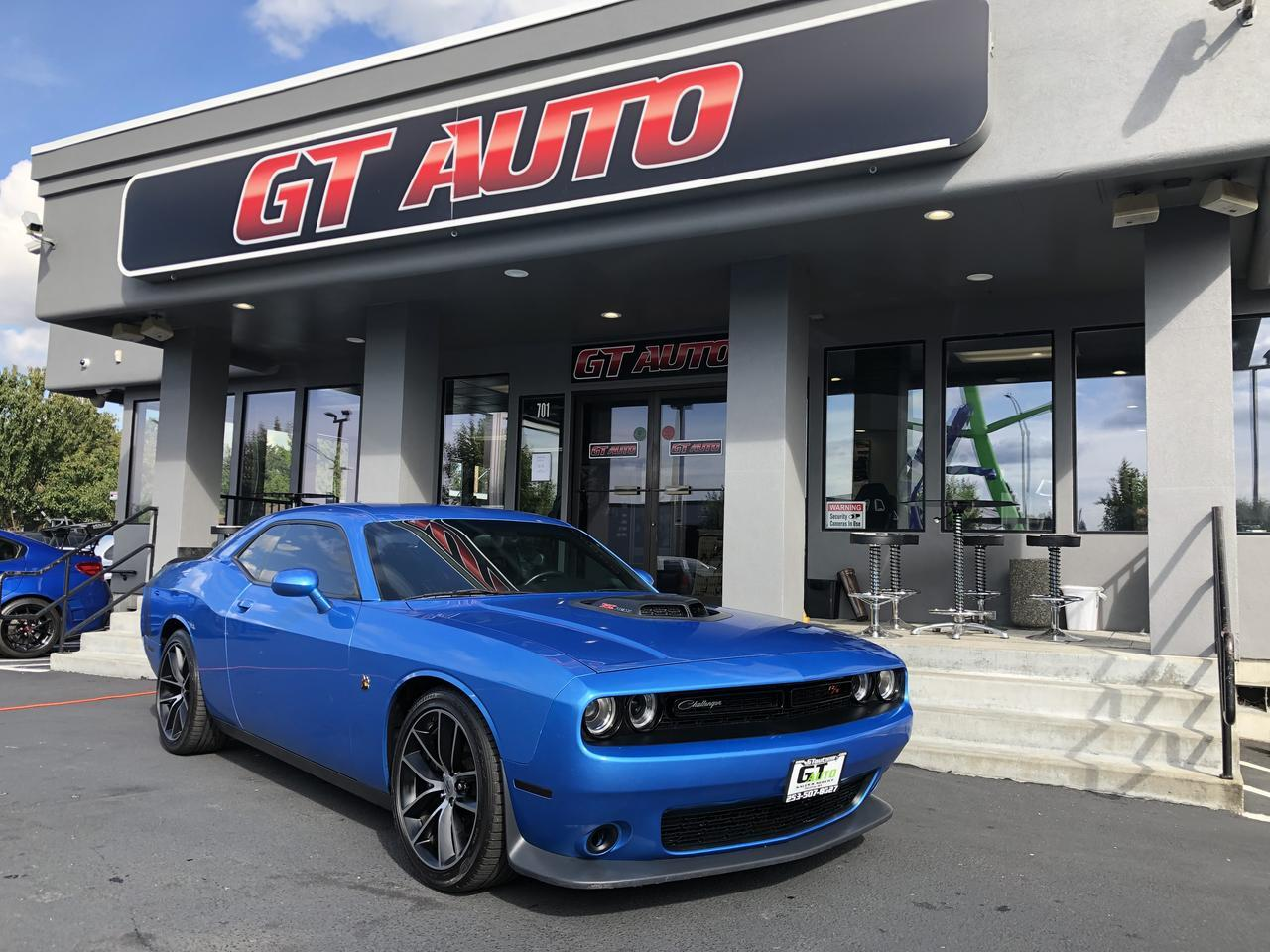 2015 Dodge Challenger 6.4L Scat Pack Shaker *6 Speed Manual* Puyallup WA